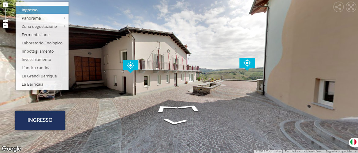 esempio virtual tour interattivo multimediale