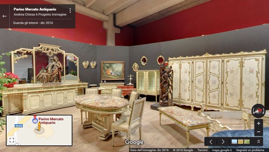 parino antiquario virtual tour vicoforte cuneo