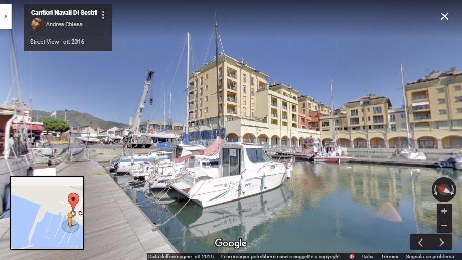 cantieri navali di sestri virtual tour genova