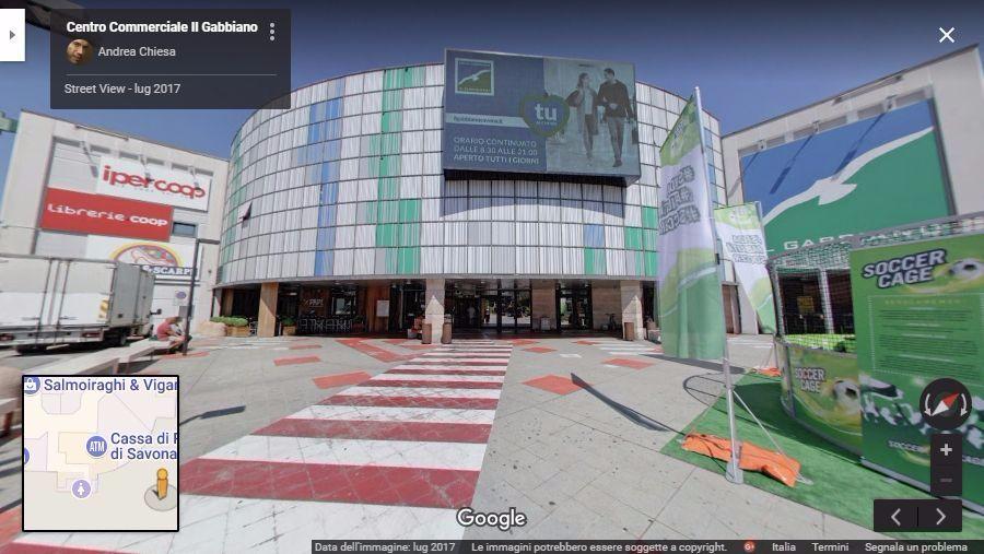 centro commerciale il gabbiano tour virtuale savona