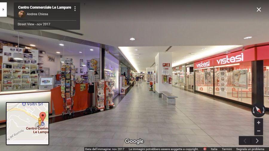 centro commerciale le lampare virtual tour arenzano