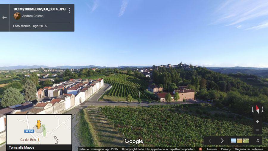 photosphere aeree foto sferica a 360 gradi