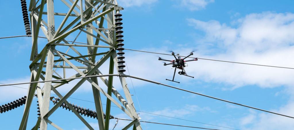 drone ispezioni sicurezza alessandria asti cuneo alba