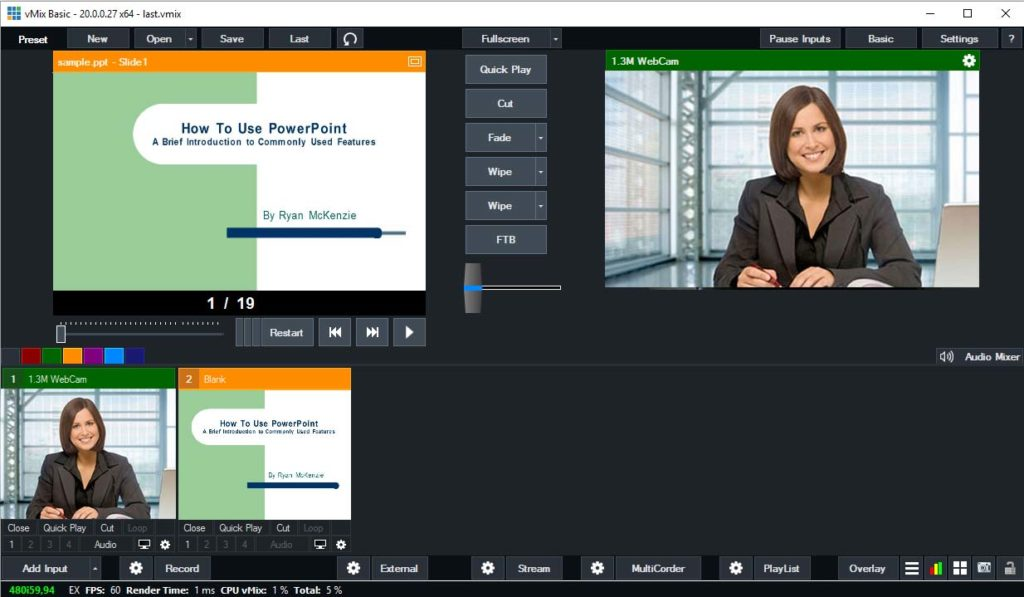 integrazioni multimediali nel montaggio video